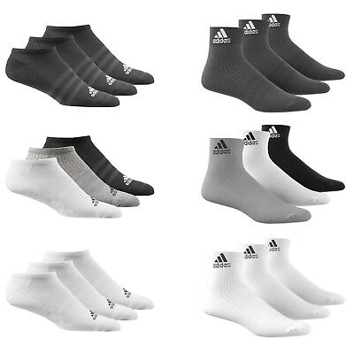 incredible prices amazing selection 2018 sneakers ADIDAS SOCKEN 3 Paar Herren Damen Baumwolle Stiefeletten ...