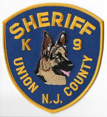 Union County Sheriff's Office, New Jersey K9 Shoulder Patch