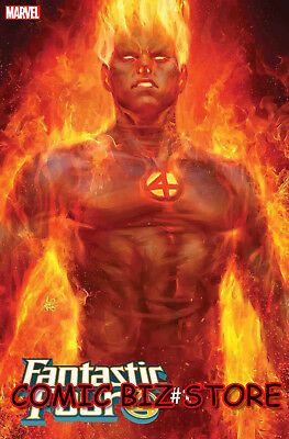 Fantastic Four #1 (2018) 1St Printing Stanley Artgerm Human Torch Variant Cover