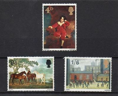 SG748-750 1967 PAINTINGS Unmounted Mint
