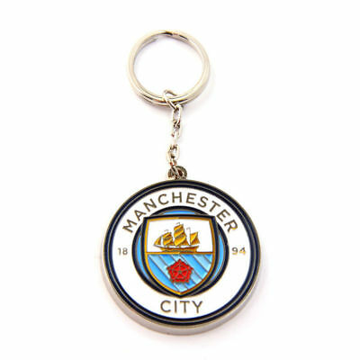 MANCHESTER CITY  FC Keyring   OFFICIAL LICENSED  MERCHANDISE GIFT