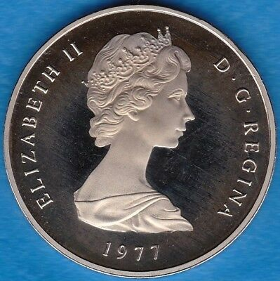 Turks and Caicos Island 1977 1-Crown Proof KM-5 US-Seller