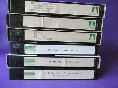 Blue Aeroplanes ORIGINAL 1993 PROMO VHS VIDEO Broken & Mended life model indie