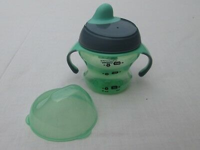 Tommee Tippee 150Ml Bottle With Handles, Green, Good Condition