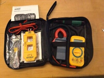 General Purpose Electrical HVAC MultiMeter Test Kit Model TK-34