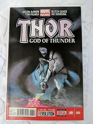 THOR God of Thunder #6 - Jason Aaron Marvel Comic Book 1st Print NM FREE P+P