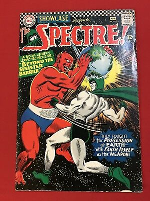 Showcase #61 2nd Appearance of SA Spectre Silver Age DC Comics GD/VG