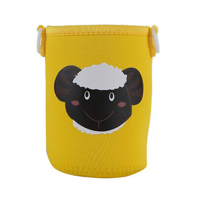 Baoblaze Yellow Sheep Bottle Sleeve with Strap for Neoprene Insulate Pouch