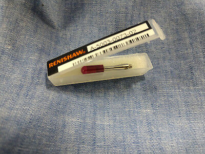 New Renishaw Stylus A-5003-0073, M2, 4mm Ruby Cylinder Stylus, L22mm