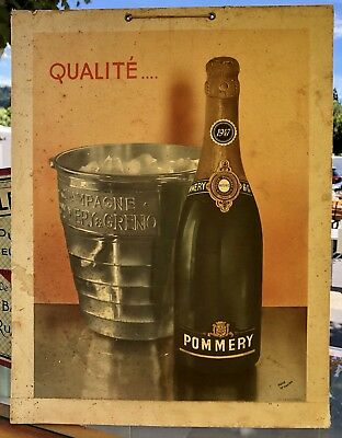 Carton champagne Pommery
