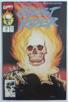 Ghost Rider # 18 FN Marvel 1991 Texiera Art! Free Combined Shipping!