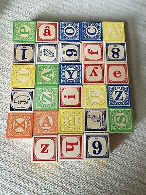Uncle Goose Classic ABC Blocks in great condition
