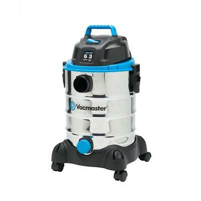 Wet/Dry Vac Vacuum Stainless Steel 6-gal. with Blower Function 12ft Cord + Tools