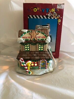 Looney Tunes Tweety Candyshop Porcelain House Christmas