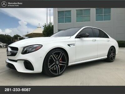 2018 Mercedes-Benz E-Class E63S AMG, MBCPO E63S AMG, MB CERTIFIED PRE-OWNED, $122K MSRP, CLEAN 1 OWNER!!!