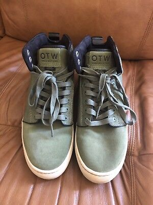 c3e5602dcc3e1e VANS OTW COLLECTION Light Yellow Suede Tips Mens Size 10 Skate Wear ...