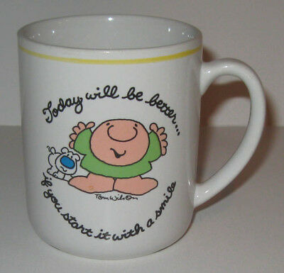 """Ziggy by Tom Wilson Ceramic Mug """"Today Will Be Better..."""" Designers Collection"""