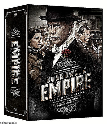 :Boardwalk Empire The Complete Series DVD seasons1-5 Box Set ,FREE SHIPPING,NEW!