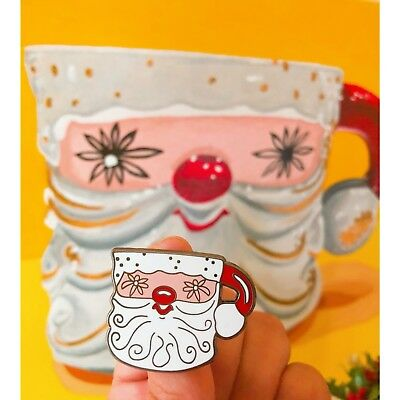 Holt Howard Limited Edition Santa Mug Enamel Pin. (Pin Only)