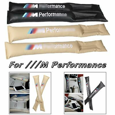 1x M perfomance Car Seat Cover Gap Filler Accessory Cover Spacer For BMW Leather
