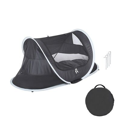 Lightweight Portable Foldable Baby Pop-up Dome Travel Cot Camping Portacot + Bag