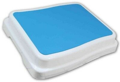 Bath Tub Step Non-Slip Surface Rectangle Modular Extra Large Platform Plastic