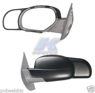 2007-2013 Chevy Silverado / Avalanche Clip Snap-On Towing Side Mirror Extension