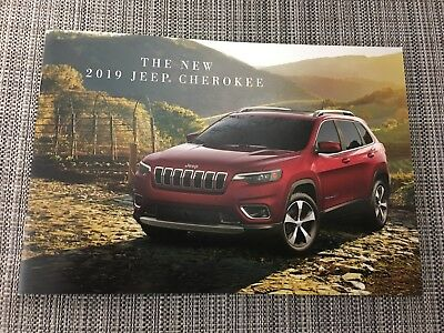 2019 JEEP CHEROKEE 16-page Small Original Sales Brochure