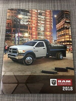2018 DODGE RAM COMMERCIAL 52-page Original Sales Brochure