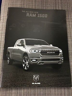2019 DODGE RAM 1500 76-page Original Sales Brochure