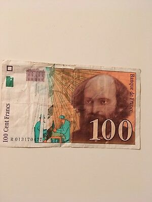 FRANCE 100 CENT FRANCS 1997 Banknote Paper Money