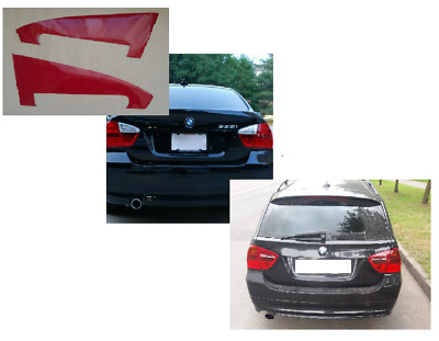 BMW E90 E91 Back lights Oracal vinyl stickers.