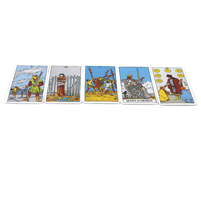 Novelty Waite Rider Tarot Cards Deck Box Future Predict Game Magic Display Props