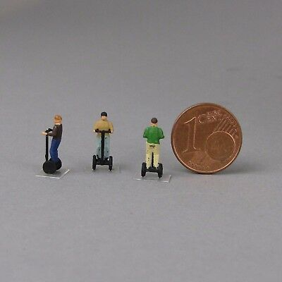 1:160 Spur N scale Kleinserie Segway Personal Transporter Human Transporter