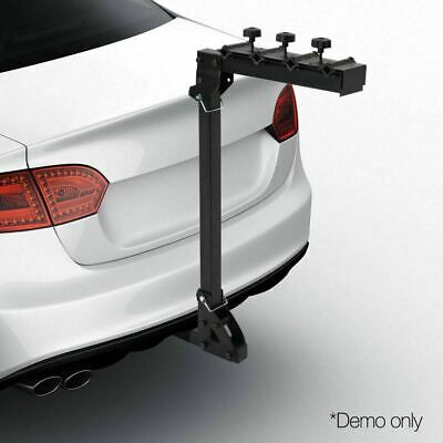 Foldable Bicycle Bike Rear Car Rack Carrier Mount Steel22'' Carry up to 4 Bike