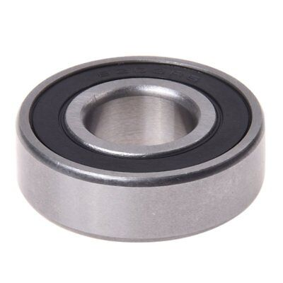 Electric Motor 6203RS 17 x 40 x 12mm Deep Groove Ball Wheel Bearing C1X4
