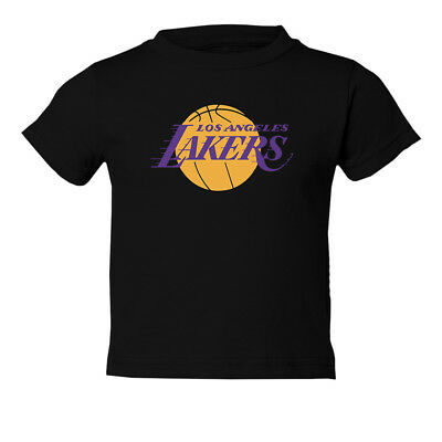 Los Angeles Lakers Logo Graphic Shirt Kids Toddler T-Shirt