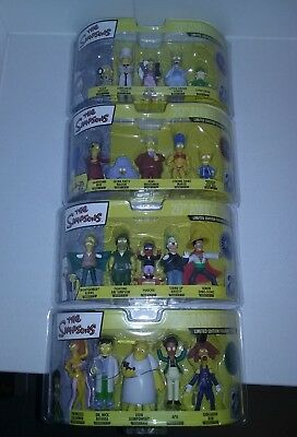 The Simpsons Limited Edition Figurine Complete Collection Rare Collectables MINT