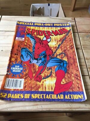 Spiderman British Weekly Summer Special 1994 Marvel