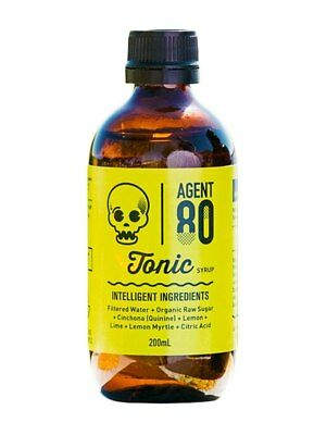 Agent 80 Tonic Syrup 200ml