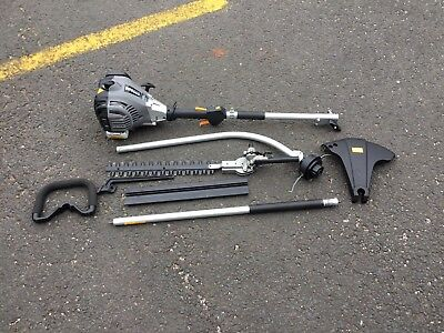 Titan TTL44889GDO 25cc Bent Shaft Petrol 2 in 1 Grass & Hedge Trimmer Used