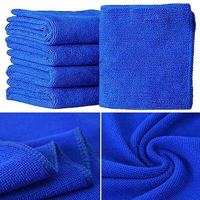10Pcs Microfibre Cleaning Auto Car Detailing Soft Cloths Wash Towel
