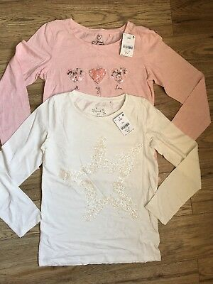 Bundle Of 2 NEXT Girls T-shirts, Age 12, BNWT
