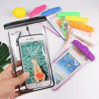 HOT Underwater Waterproof Cell Phone Pouch Dry Bag Cover Case For iPhone Samsung