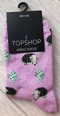 Ladies/Girls Lilac Armadillo And Cactus Cotton Ankle Socks
