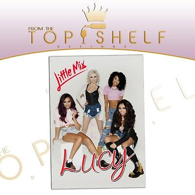 Personalised A4 laminated Little Mix poster any name or message