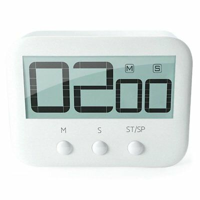 LCD Digital Large Kitchen Cooking Timer Count-Down Up Loud Alarm Magnetic N9X2