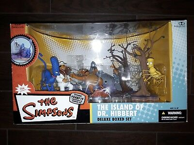 The Simpsons Island of Dr. Hibbert Deluxe Boxed Set NEW Treehouse of Horror