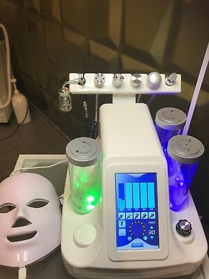 Hydrodermabrasion  Aqua- Hydra Facial Peeling System 7 in 1