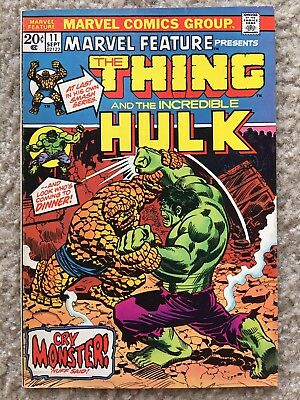 Marvel Feature 11 (1973) by Marvel (1st Thing solo story) in (VG/FN) Condition!!